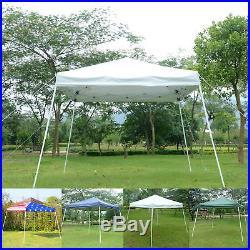 EZ Pop Up Canopy Wedding Party Tent Outdoor Folding Patio Gazebo Shade Shelter
