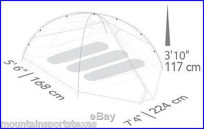 Eureka Taron 3 Backpacking Tent