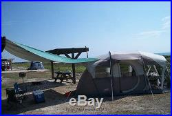 Extra Tent 6 Person Cabin Family Shelters Porch Camping Outdoor Hiking Survival