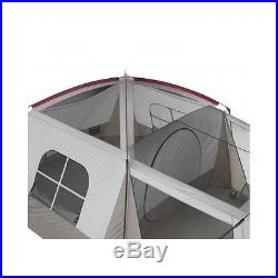 Family Camping Tent 8 Person Waterproof Dome Camp Large Room Outdoor Shelter Bag