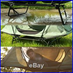 Folding Camping Tent Waterproof Multipurpose Cot Outdoor Sleeping Bed 1 Person