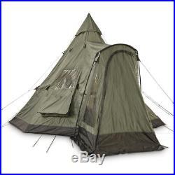 GUIDE GEAR Deluxe 18' x 18' Teepee Tent Sleeps 10-12 People See Listing