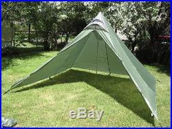 GoLite Shangri-La 4+ Shelter (Fly and Floor). Green Color