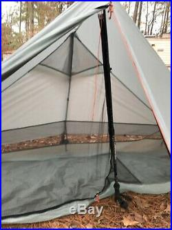 Gossamer gear the one 1 ultralight trekking pole tent. Very good used condition