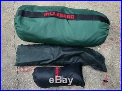 HILLEBERG NAMMATJ 2 GT Green Expedition Grade 4-Season Tunnel Style Tent