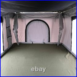 Hard Shell Roof Top Camping Tent 50mm Mattress Ladder Truck Tent Waterproof