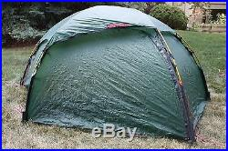 Hilleberg Allak 2-Person Free Standing All Season Dome Tent Green Gently Used