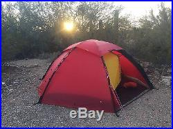 Hilleberg Staika 2 person tent Red with Footprint & Hilleberg Staika 2 person tent Red with Footprint @ Small Camping Tents