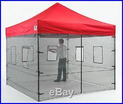 Impact Instant Canopy Pop Up Food Service Vendor Canopy Tent Sidewalls