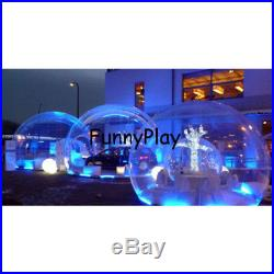 Inflatable Bubble Tent, Lawn, Dome, hiking Transparent camping pool sea outdoor