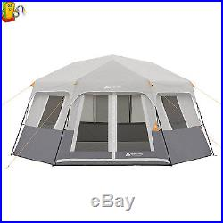Instant Cabin Hexagon Pop Up Tent 8 Person Outdoor Camping Shelter Hiking