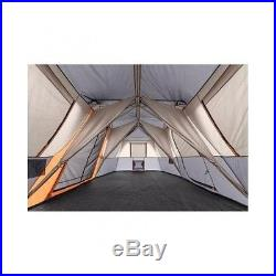 Instant Cabin Tent 12 Person 3 Room Family Size Outdoor Camping Easy Set Up