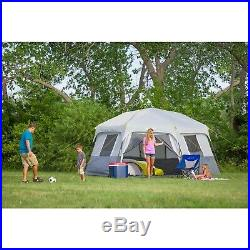Instant Cabin Tent Ez Set Pop Up Hexagon 8 Person Outdoor Camping Shelter Tents