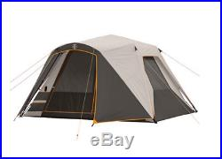 Instant Tent 6 Person Bushnell 11' x 9' Outdoor Family Cabin Tents for Camping