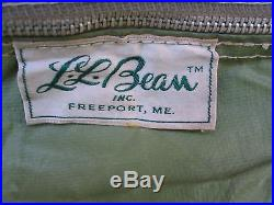 L. L. Bean vintage Canvas tent & Tag » bean « @ Small Camping Tents