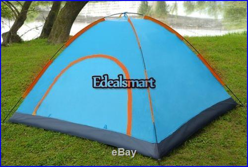 Large 4 Person Hiking Camping Automatic Instant Pop up Family Tent Outdoor layer