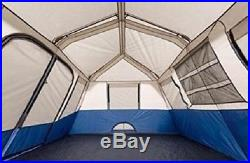Large Camping Tent 10 Person Cabin 14x10 Family Outdoor Room Campground Supplies