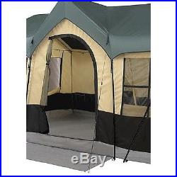 Large Camping Tent Family Cabin 8 Person Outdoor Hiking Shelter Hunting Lodge