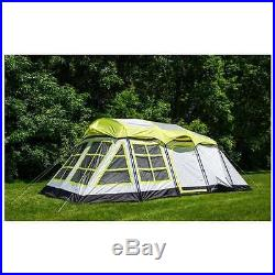 Large Family Tent Cabin 14 Person Camping Outdoor Nature Adventure Mountain Lake