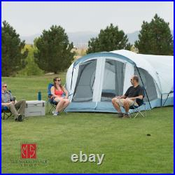 Large Outdoor 11-14 Person 3 Room Instant Cabin Camping Hiking Tent Private Room