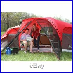 Large Tent Camping Outdoor Ozark Trail 3 Room 10 Person Waterproof