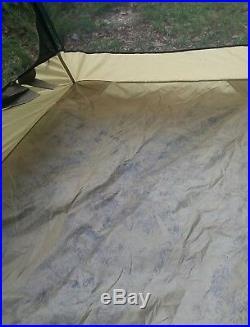 Litefighter Full Spectrum 1- One Man Combat Shelter Tent Coyote Tan GRADE 3 FAIR