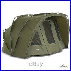 Lucx Bivvy 2 Man Angelzelt 2 3 Mann Karpfenzelt Carpdome Fishing Tent Tiger