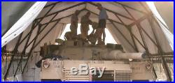 MILITARY SURPLUS (LME) LIGHTWEIGHT MAINTENANCE TENT 24 x 32' TRUCK TRAILER ARMY