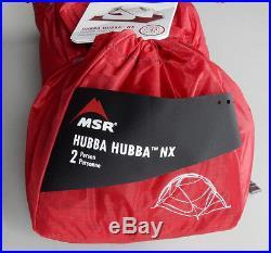 MSR 2016 Hubba Hubba NX ultra light tent with Footprint + Tent Light Accessory Kit