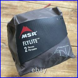 MSR Flylite 2 Person Ultralight Backpacking Tarp Tent