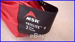 MSR Freelite 2 Tent + Footprint Size 2 Person Style #05843