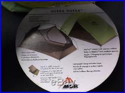 MSR HUBBA HUBBA 05144 2-PERSON 3 SEASON LIGHTWEIGHT BACKPACKING TENT NEW