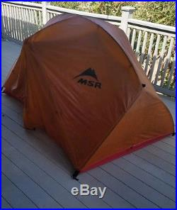 MSR Hubba Hubba 2-Person Tent Ultra Light Backpacking Shelter FootPrint Included