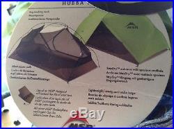 MSR Hubba Hubba Tent 2-Person 3-Season + footprint
