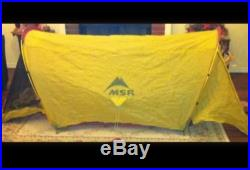 MSR SKINNY ONE ULTRALIGHT TENT, SINGLE-WALL SOLO / 1 PERSON BACKPACK / CAMPING