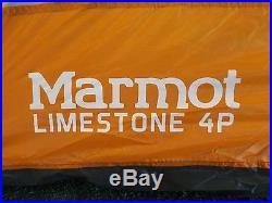 Marmot Limestone 4 Tent 4-Person 3-Season /27579/