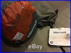 Marmot Pulsar 2 & Footprint Tent Backpacking NEW 2 Person 3 Season