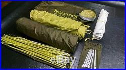 Marmot Tungsten UL 2 Tent Backpacking Ultralight UL2 ultra light weight 2 person