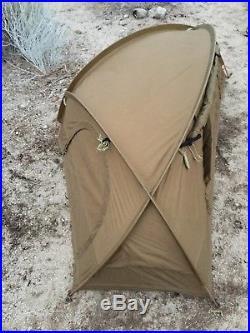 Mountain Hardwear Hunker I Tent- Coyote Brown Nsw Seals