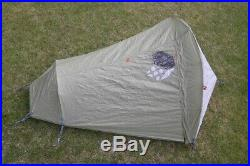 Mountain Hardwear Sprite Tent Ultralight Backpacking 2 Sets Of Poles