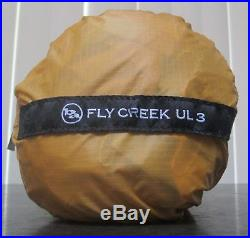 NEW Big Agnes Fly Creek UL3- 3 Person Tent Ultralight Backpacking