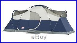 NEW! COLEMAN Elite Montana 8 Person Family Camping Tent with WeatherTec 16' x 7