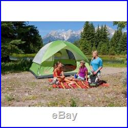 NEW! COLEMAN Sundome 6 Person Outdoor Hiking Camping Tent with Rainfly 10' x 10
