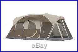 38e912fd2a0 NEW COLEMAN WeatherMaster 6 Person Family Camping Screened Tent WeatherTec