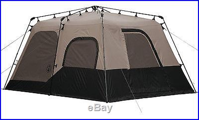 NEW! Coleman 14 x 10 Foot 8 Person Instant Two Room Tent with WeatherTec System