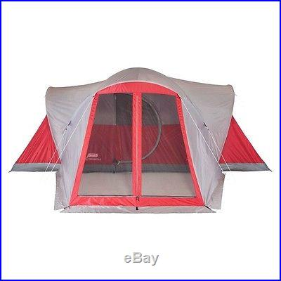 NEW! Coleman Bristol 8 Person Tent with ScreenRoom
