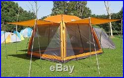 NEW LAPUTA Waterproof 5 Person Family Camping Instant Tent Hiking Outdoor Tents