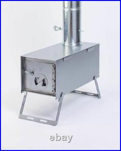 NEW! Lightweight Sheepherder Packer Wood Stove for Canvas Wall Tent Camping