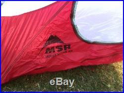 NEW MSR Hubba Hubba NX 2 Person 3 Season Light Backpacking Tent