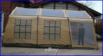 NEW Northwest Territory Front Porch Tent 18u0027x12u0027x90 Large Cabin Style & NEW Northwest Territory Front Porch Tent 18u2032x12u2032x90 Large Cabin ...